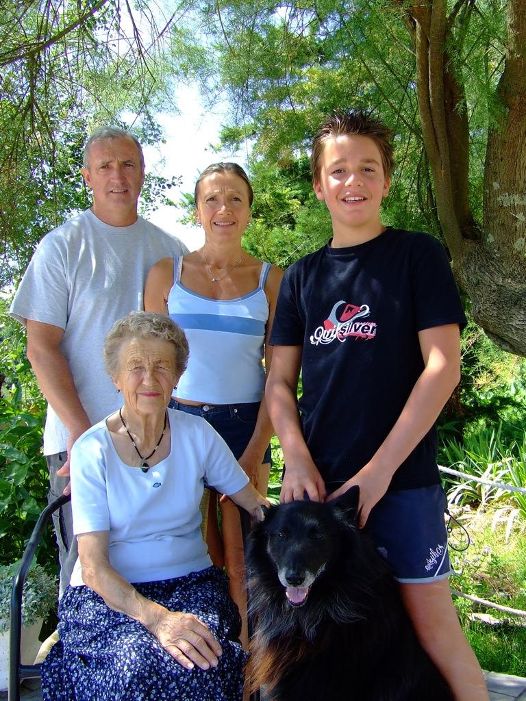 Marie-Pierre Praudel et sa famille vous accueillent